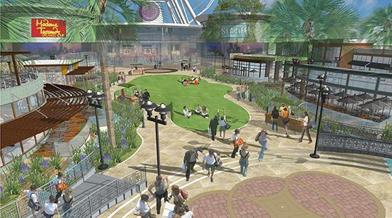 I-Drive Live will have shops, restaurants and attractions such as a wax museum.