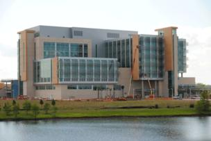 Nemours Children's Hospital's inpatient child psychiatric unit will have 10 beds and cost $5.5 million to construct.