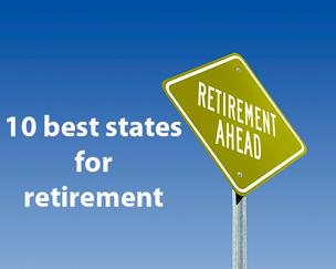 Best and worst states for retirement slideshow