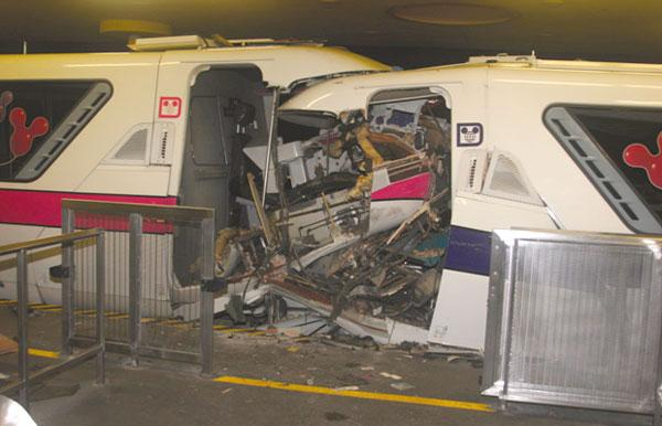 The NTSB blamed Disney World's 2009 monorail crash on improper positioning of a switch beam.