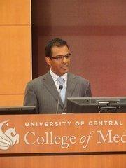 Rasesh Thakkar, managing director of Lake Nona developerTavistock Group.