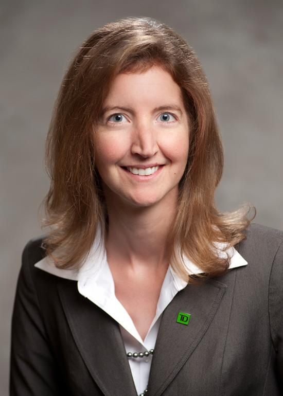 Beata Caranci, vice president and deputy chief economist of Toronto-based TD Bank Group.