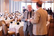 Jim Siebold, of JHT Inc., attends OBJ's Power Breakfast on the modeling and simulation industry.