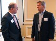 Greg Morrison of Morrison Commercial Real Estate and John Krug, Director of Economic Development at Seminole County Government.