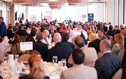 The Orlando Business Journal modeling and simulation power breakfast at the Citrus Club in downtown Orlando was sold out.