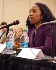 Gwendolyn Keyes Fleming, the EPA's regional administrator for the Southeast, fielded hard questions from the subcommittee.