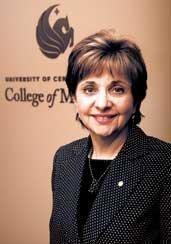 Dr. Deborah German, dean of the UCF College of Medicine.