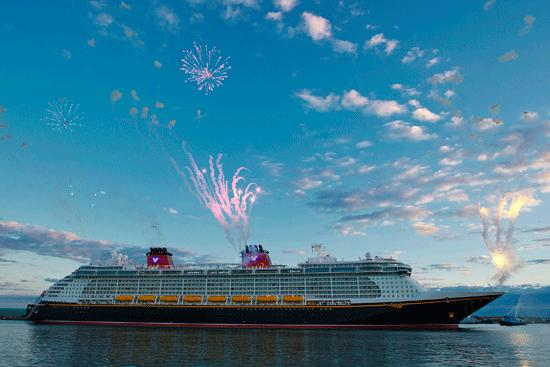 Disney Fantasy arrives at Port Canaveral on Tuesday, March 6.