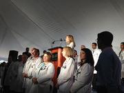 Marla Silliman, senior vice president of Florida Hospital, also spoke at the groundbreaking event.