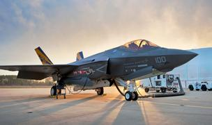 The Lockheed Martin F-35 Joint Strike Fighter could be a target for government spending cuts.