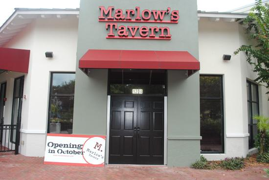 Marlow's Tavern opened its first Central Florida location in Pointe Orlando Oct. 8.