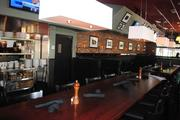 The decor inside the new Marlow's Tavern in Pointe Orlando is very contemporary and intimate.