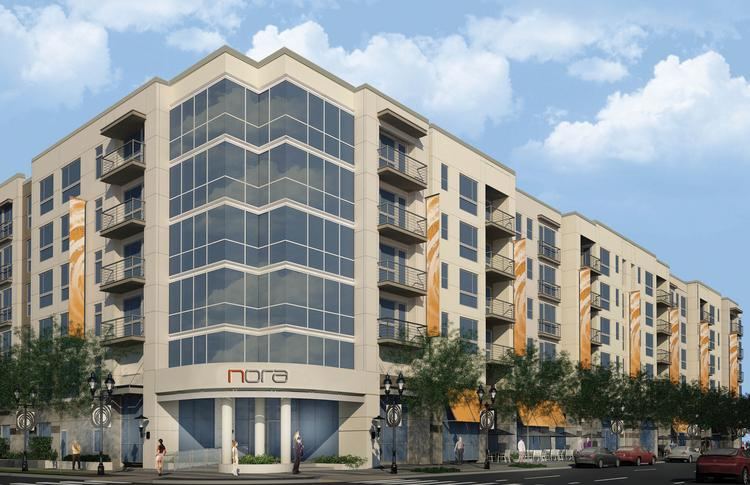 New York development firm GDC Properties LLC began work earlier this month on the  six-story, 246-unit NORA apartment complex on North Orange Avenue in downtown  Orlando.