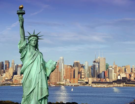 New York City is the top domestic destination for Georgia travelers.