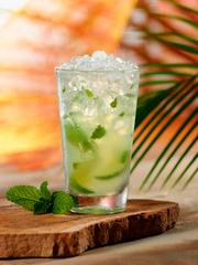 Bahama Breeze's new menu includes a skinny mojito made with Bacardi Superior Rum, crushed spearmint and fresh limes.