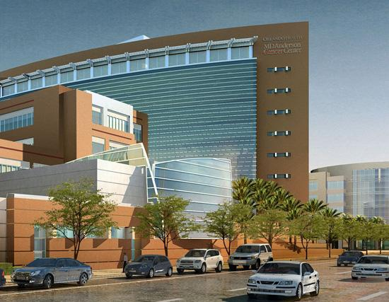 MD Anderson Cancer Center Orlando will break ground Sept. 27 on a $25 million, 15,000-square-foot cancer center on Orange Avenue.