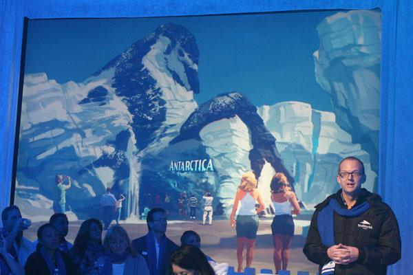 SeaWorld's Antarctica — Empire of the Penguin expansion is slated to open in Spring 2013.
