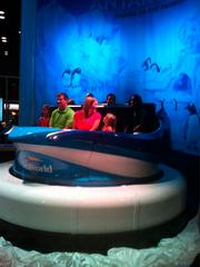 SeaWorld unveiled the attraction's eight-passenger ride vehicle at IAPPA Expo last November.