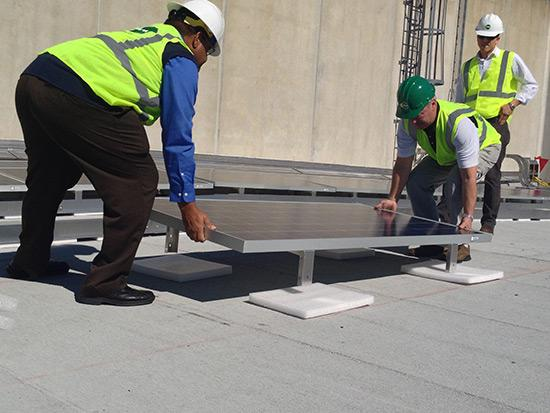 Some U.S. utilities are looking to get into the solar rooftop installation business.