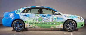 EcoCAR 2 is a three-year collegiate engineering competition in which 16 universities, including Embry-Riddle, will work to reduce the environmental impact of a Chevrolet Malibu.