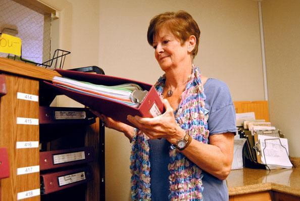 Good Samaritan Society-Kissimmee Village administrator Kayln Johnson doesn't want to cut staff, but knows she may have to.