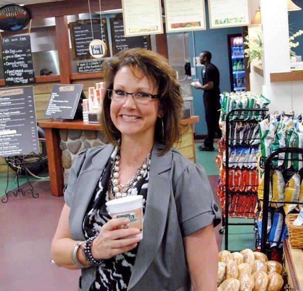 Gini Tackett of Cabin Creek Food Services Inc.