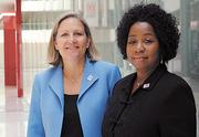 Darden's Laurie Burns and Sylvia Doggett strive for workplace inclusion.