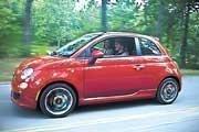 The Fiat 500 Sport