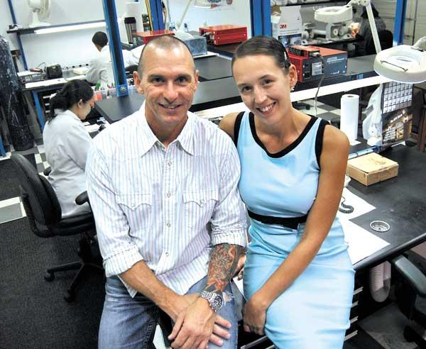 Jerry and Brittany Harvey, owners of JH Audio in Apopka