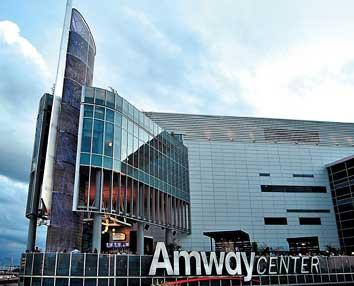 """The Amway Center has been named a finalist for the """"Sports Facility of the Year"""" award."""