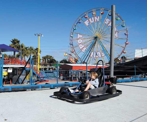 Fun Spot is expanding its Orlando park, which averages about 450,000 visitors annually.