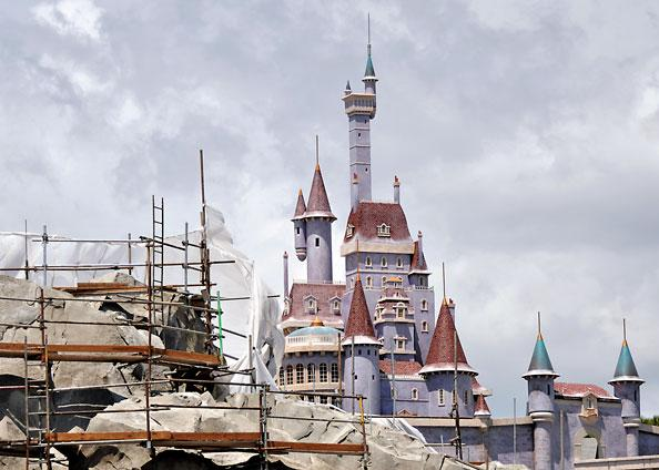 Disney's Fantasyland expansion will open in phases, starting this year.