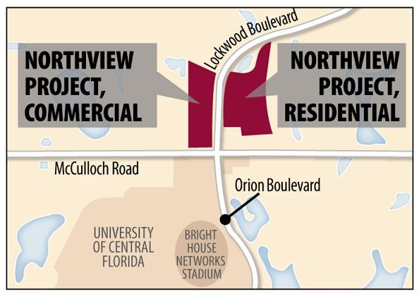 The Seminole County Industrial Development Authority gave preliminary  approval Aug. 20 on a $65 million bond refinancing deal for the NorthView residence building.
