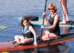 Paddling with the manatees