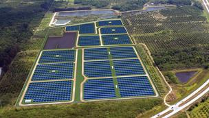 The Sunshine State is going solar: Florida Power & Light opened a 10-megawatt solar plant on NASA property in April, while National Solar Power wants to build  a 50-megawatt facility.