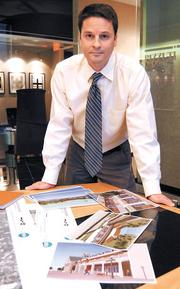 Following the moneySeveral local commercial developers shifted site plans for previous  office projects to apartments, an area of real estate more readily being  financed. Some of those projects included The Pizzuti Cos.' The Sevens  project in downtown Orlando and Boston-based Taurus Investment Holdings'  Beltway Commerce Center. Read more here.Shown: Christopher Wrenn of the Pizzuti Cos. LLC