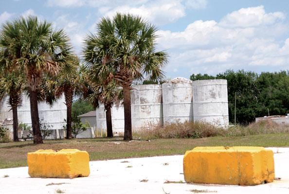 The shuttered Cemex plant on Mary Jess Road in Edgewood is one of four in Central Florida the company is trying to sell.