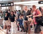 Airport traffic up, but future turbulent