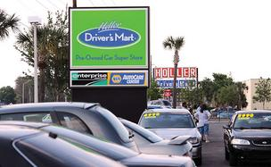 Holler's Drivers Mart is planning an expansion.