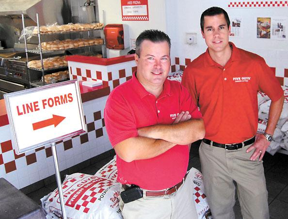 Les Hatter and Brandon Bengel of BRMGRP LLC, the parent company of Five Guys franchisee Bengel's Burgers LLC, will open 11 Taqueria del Sol restaurants in Central and south Florida during the next several years.