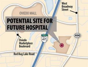 HCA putting the pieces in place for Oviedo hospital?