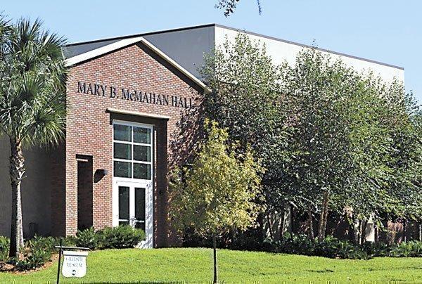 Stetson University's Mary B. McMahan Hall earned LEED certification.