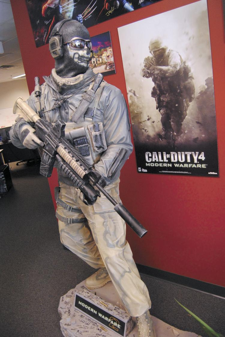 n-Space Inc. produces video games such as Call of Duty 4.