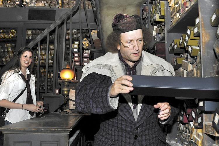 Ollivander's Wand Shop at The Wizarding World of Harry Potter