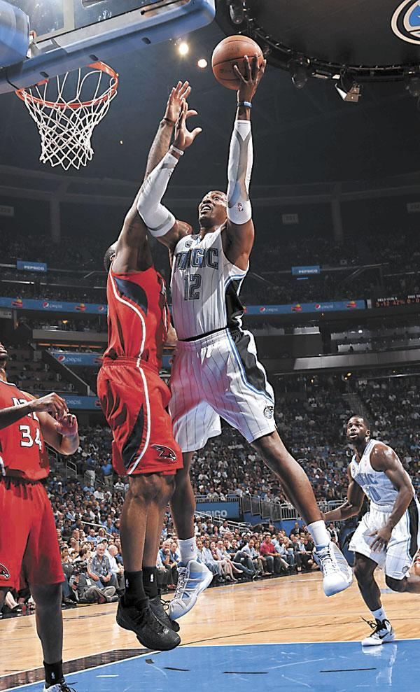 Orlando Magic's Dwight Howard will be a free agent next year.