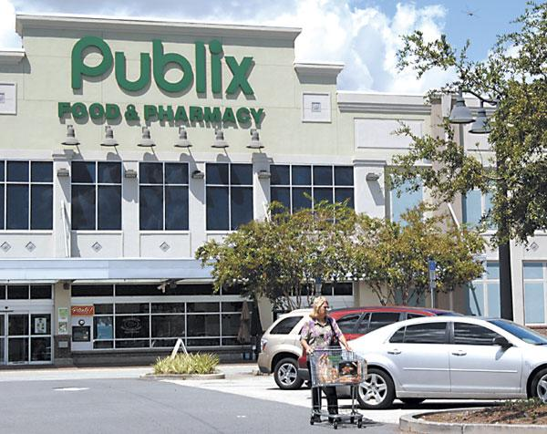Publix Super Markets Inc. reported sales of $7.1 billion for the first quarter, a 4.2 percent increase from $6.8 billion in the year-ago period.