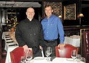 Del Frisco's Chef Chris Hughes and owner David Christner