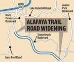 Alafaya Trail widening OK'd