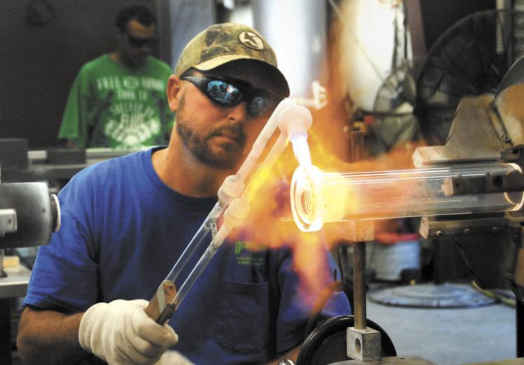 Scientific Glass quartzware fabricator Robbie Myers