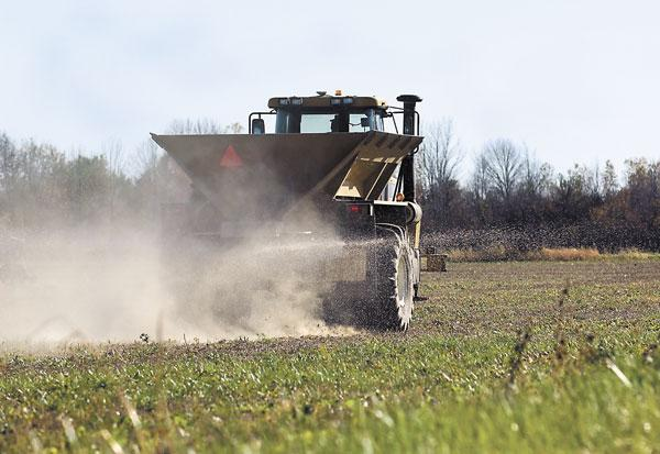 North Dakota farmers are a big user of fertilizer, but the plant would also supply neighboring states.
